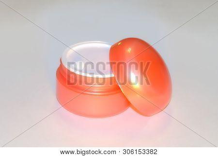 Orange Cosmetic Cream Image Photo Free Trial Bigstock