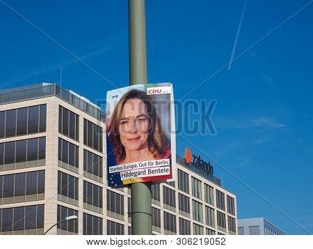 Hildegarde Bentele Elected For The Cdu Berlin In European Parlia