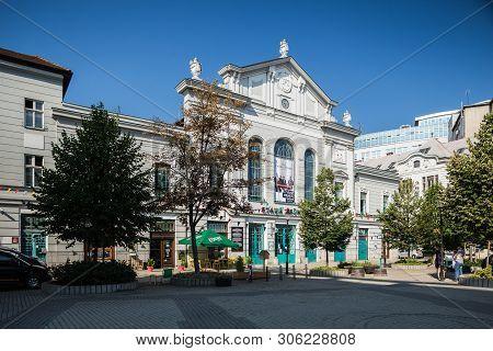 Bratislava, Slovakia. 04 August 2015. Old Market Building (stara Trznica) In Bratislava.