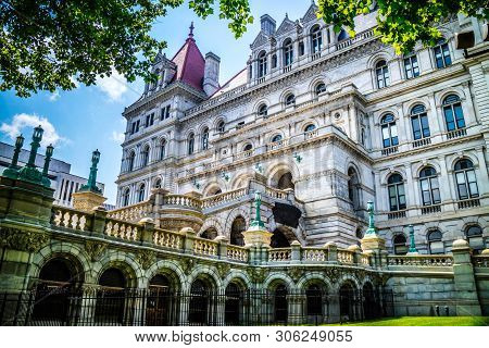 The Center Of Administration In Albany, New York
