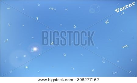 Breezy Space Fantasy. Background Texture, Blur. Creative Colorific Illustration.  Cyan Colored Backg