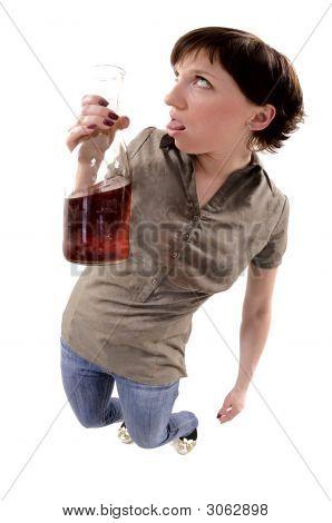 Problem Of Woman Alcoholized