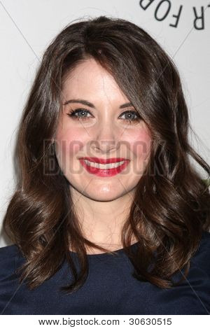 LOS ANGELES - MAR 3:  Alison Brie arrives at the