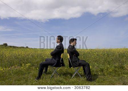 Argue Between Two Businessman