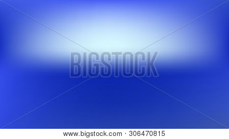 Pure, Plain Mesh. Ordinary Illustration, Crisp. Ground Blend. Azure Colored Background. Pure Backdro