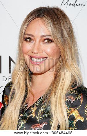 LOS ANGELES - JUN 4:  Hilary Duff at the SAINT Modern Prayer Candles For A Cause Launch at the Mr. Chow on June 4, 2019 in Beverly Hills, CA
