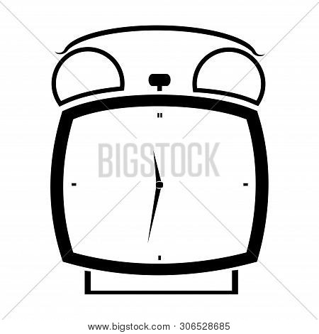 Clock Icon Isolated On White Background. Clock Icon Simple Sign. Clock Icon Trendy And Modern Symbol