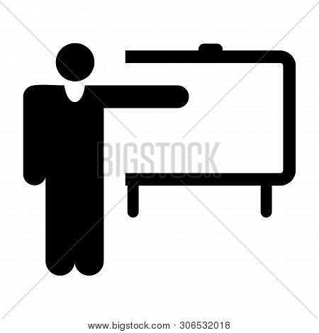 Training Teacher Icon, Training Teacher Icon Eps10, Training Teacher Icon Vector, Training Teacher I