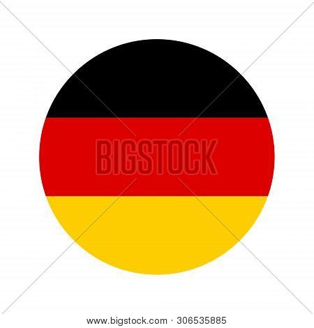 Flag Of Germany. Vector Isolated German Flag For Banner Or Print Or Illustration. National Standard
