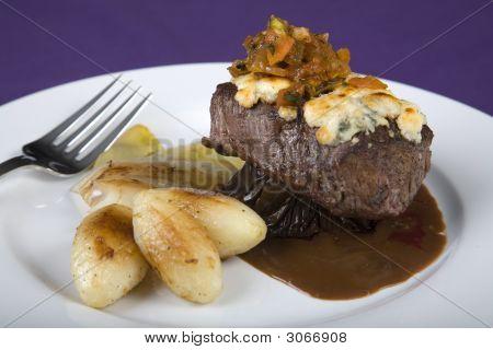 A Filet Mignon Entree