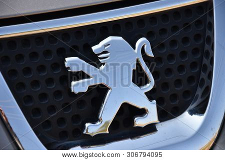 Copenhagen: May 1, 2019 - Lion-peugeot Is A Formerly Independent French Auto-maker. It Is The Name U