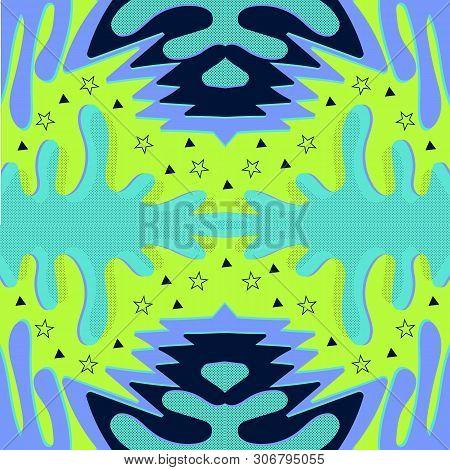 Memphis Pattern Retro Vector & Photo (Free Trial) | Bigstock