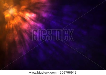 Color Abstract Defocused Bokeh Pattern Wallpaper. Blurred Background.
