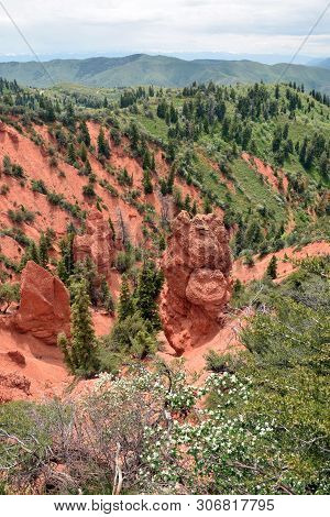 Devils Kitchen Rock Formation Utah