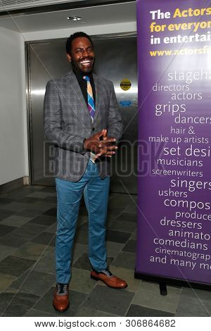 LOS ANGELES - JUN 9: Baron Vaughn at The Actors Fund's 23rd Annual Tony Awards Viewing Gala honoring Lily Tomlin at the Skirball Cultural Center on June 9, 2019 in Los Angeles, CA
