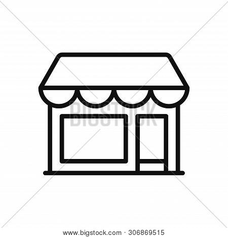 Store Icon Isolated On White Background. Store Icon In Trendy Design Style. Store Vector Icon Modern