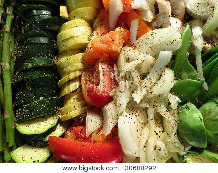 Seasoned Veggies