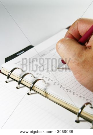 Jotting Business Notes