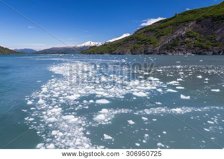 Prince William Sound In Chugach National Forest In Alaska, United States