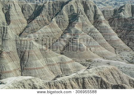 Panorama Point In Badlands National Park In South Dakota, United States