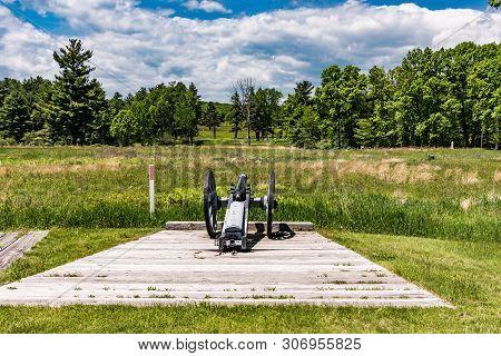 Saratoga National Historical Park In New York, United States