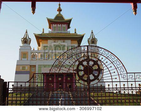 Burkhan Bakshin Altan Sume The Golden Abode Of The Buddha Shakyamuni Is The Main Touristic Attractio
