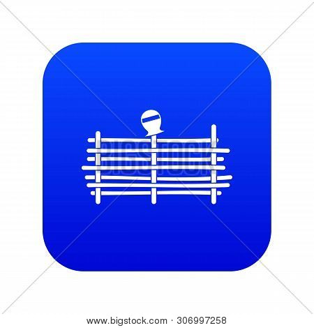 Palisade Icon Digital Blue For Any Design Isolated On White Vector Illustration