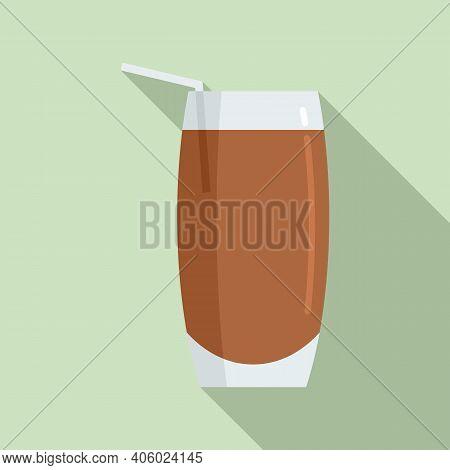 Drink Soda Icon. Flat Illustration Of Drink Soda Vector Icon For Web Design