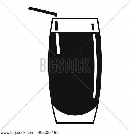Drink Soda Icon. Simple Illustration Of Drink Soda Vector Icon For Web Design Isolated On White Back