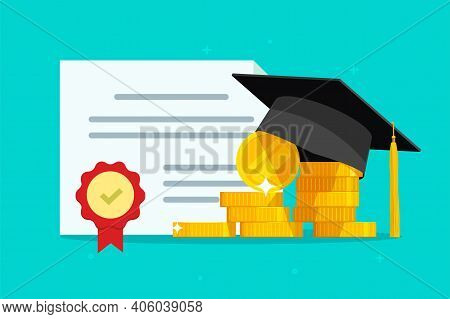 Tuition Grant Certificate, Education Study Money, Diploma Expenses Cost, Learning Success Investment