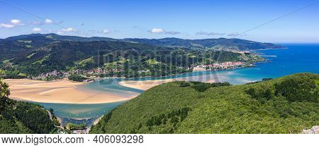 The Biosphere Reserve Of Urdaibai In The Basque Country