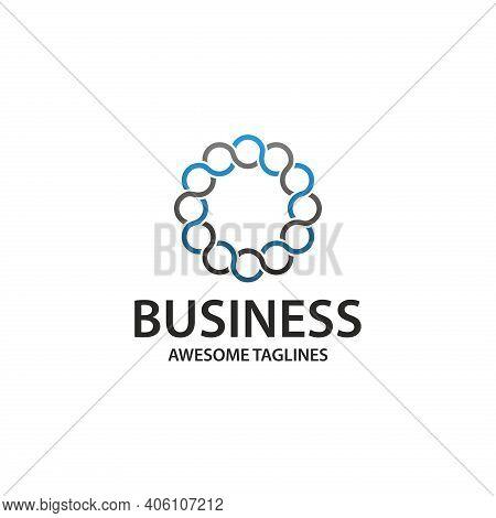 Link Logo. Link Illustration. Link Symbol. Business Link Logo. Abstract Link Logo. Link Sign.