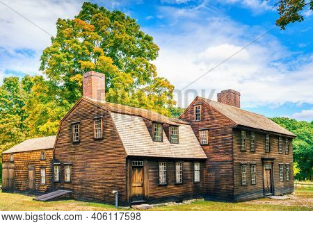 Hartwell Tavern on the Bay Road in Lincoln, Minute Man National Historic Park