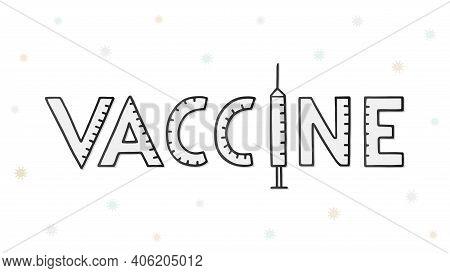 Vector Handwritten Word