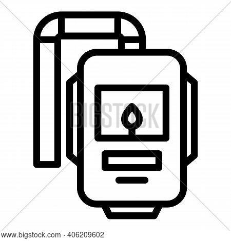 Welder Mask Icon. Outline Welder Mask Vector Icon For Web Design Isolated On White Background