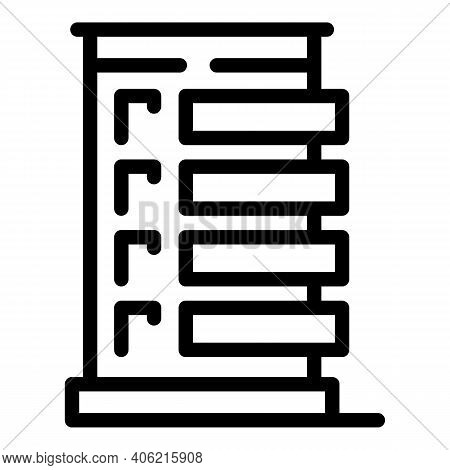 Broker Property Investments Icon. Outline Broker Property Investments Vector Icon For Web Design Iso