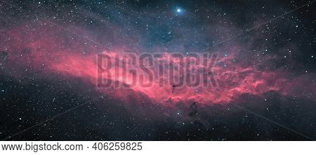 A Picture Of The Enormous Gas Cloud Deep In Space