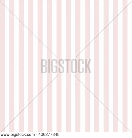 Bright Pink Stripes On White Background. Bright Pink And White Striped Seamless Pattern. Print For C