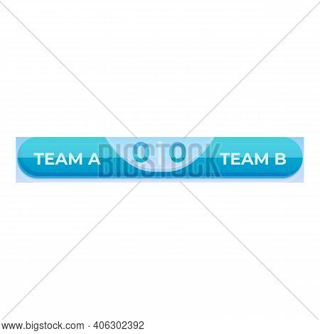 Digital Scoreboard Icon. Cartoon Of Digital Scoreboard Vector Icon For Web Design Isolated On White