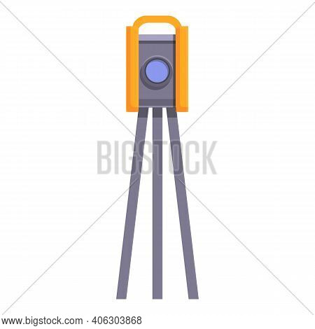 Highway Construction Tool Icon. Cartoon Of Highway Construction Tool Vector Icon For Web Design Isol
