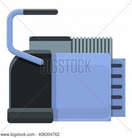 Deep Compressor Icon. Cartoon Of Deep Compressor Vector Icon For Web Design Isolated On White Backgr