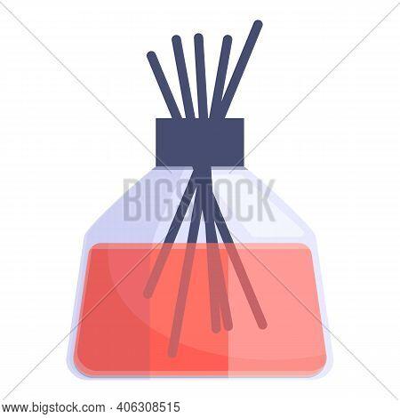 Air Freshener Auto Sticks Icon. Cartoon Of Air Freshener Auto Sticks Vector Icon For Web Design Isol
