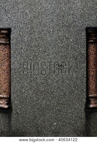 Black Granite Background / Texture