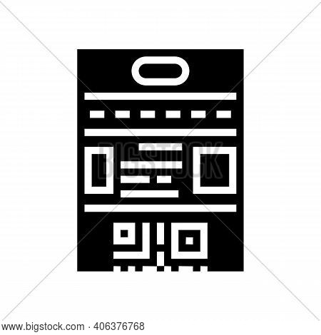 Rules Lotto Glyph Icon Vector. Rules Lotto Sign. Isolated Contour Symbol Black Illustration