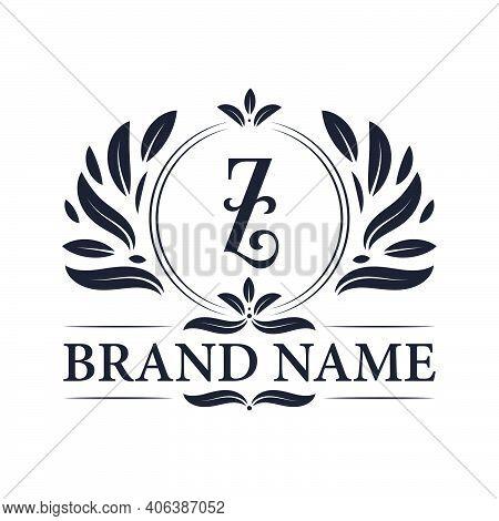 Letter Z Logo Design. Alphabet Z Luxurious Logo, Vintage Ornamental Luxury Logo Design Template.