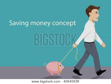 Saving Money Concept.eps