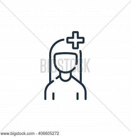 user icon isolated on white background from social media collection. user icon thin line outline lin