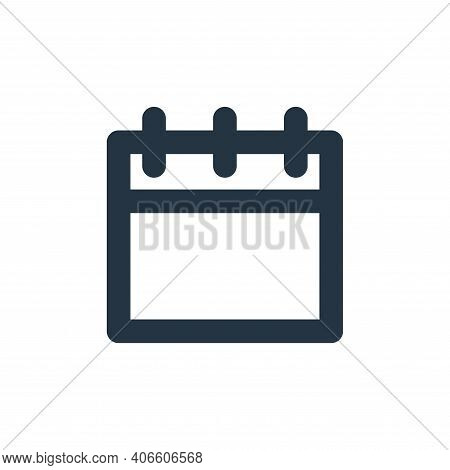 timeline icon isolated on white background from user interface collection. timeline icon thin line o