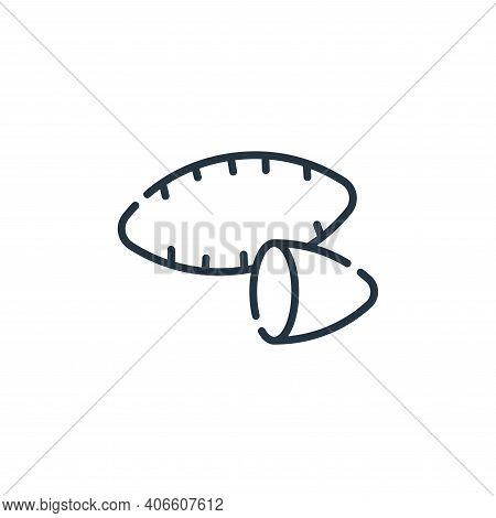 sweet potato icon isolated on white background from vegan food collection. sweet potato icon thin li