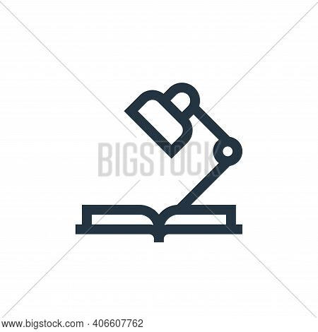 studying icon isolated on white background from mental health collection. studying icon thin line ou